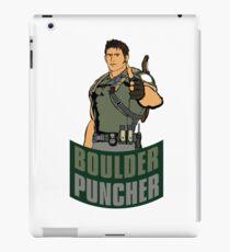 Chris BOULDER PUNCHER Redfield iPad Case/Skin