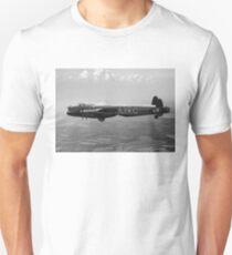 Dambusters Lancaster AJ-G carrying Upkeep, B&W version T-Shirt