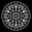 Stipple Skull-Dala by WelshPixie