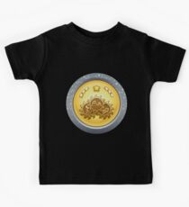 Glitch Achievement all giant emblems Kids Tee
