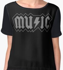 Music Women's Chiffon Top