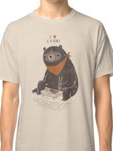 sushi bear Classic T-Shirt