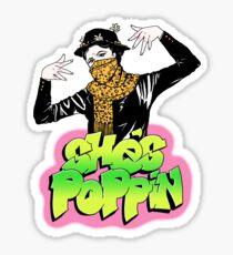 She's Poppin Sticker