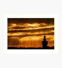 Carillon Sunset Art Print