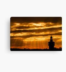 Carillon Sunset Canvas Print