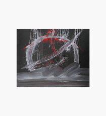 WDVH - 0014 - Skew Red Art Board