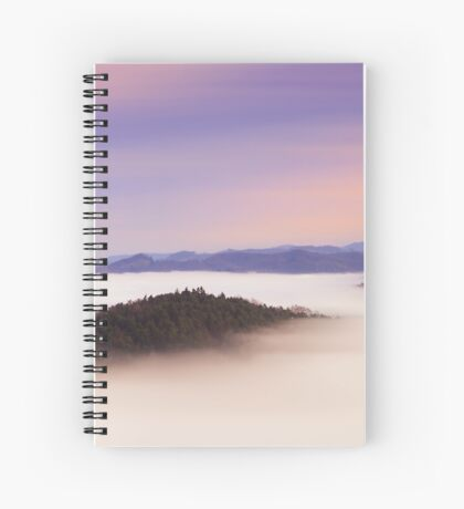 Natural mystic Spiral Notebook
