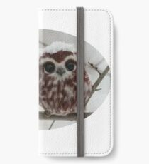 Two happy little owls iPhone Wallet/Case/Skin