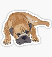 Bull-mastiff Sticker