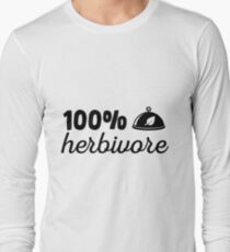 100% herbivore Long Sleeve T-Shirt