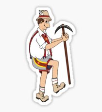 The Price is Right - Cliff Hanger Yodely Guy Sticker