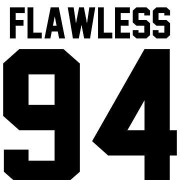 Flawless '94 - Jersey Tee  by jezzhands