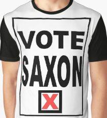 Vote Saxon Graphic T-Shirt