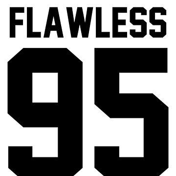 Flawless '95 - Jersey Tee  by jezzhands