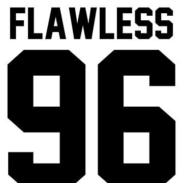 Flawless '96 - Jersey Tee  by jezzhands