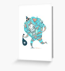 40 Thieves  Greeting Card