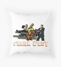 BAD MOFO FRANK Throw Pillow