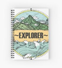 EXPLORER Spiral Notebook