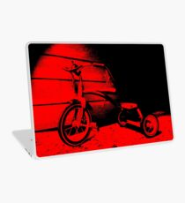 Red Tricycle Laptop Skin