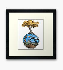 The White Snake Framed Print