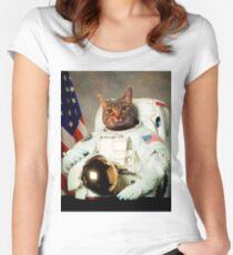 AstroCat Women's Fitted Scoop T-Shirt