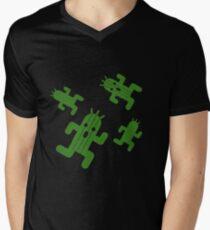 Cactuar print  Men's V-Neck T-Shirt