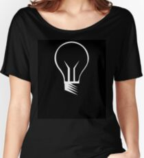 LightBulb Women's Relaxed Fit T-Shirt