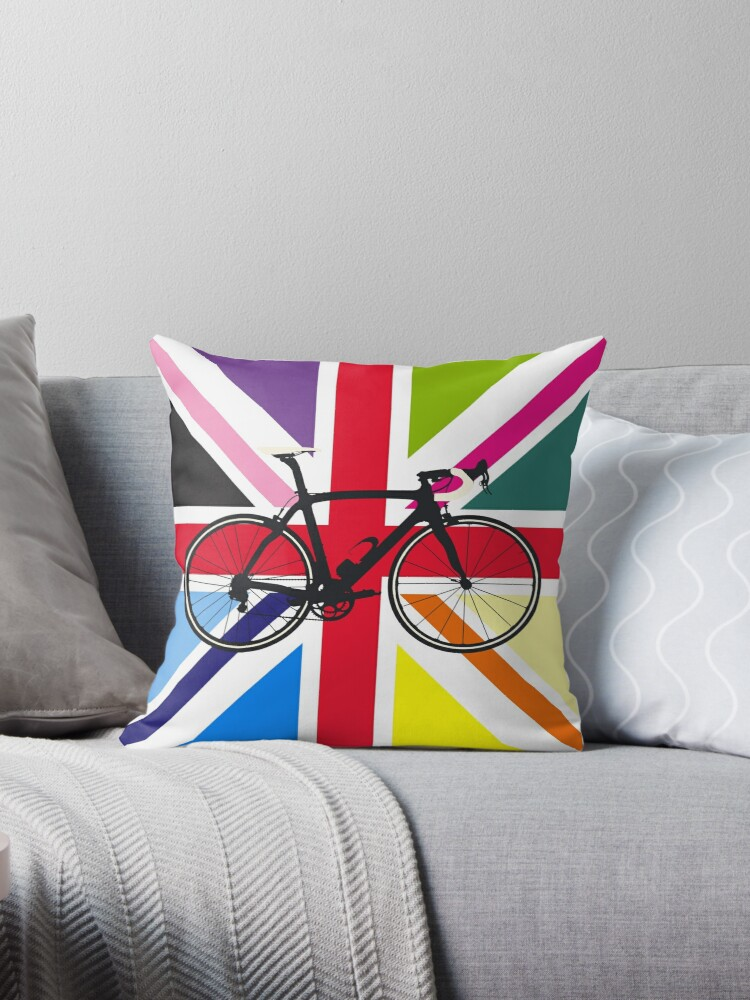 Bike Flag United Kingdom (Multi Coloured) (Big - Highlight) by sher00