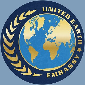 United Earth Embassy by GravelSkies