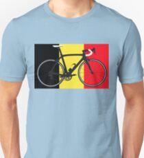 Bike Flag Belgium (Big - Highlight) Unisex T-Shirt
