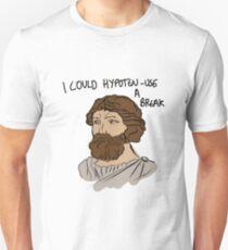 Pythagoras could use a break Unisex T-Shirt