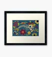 Pescado Muerto Framed Print