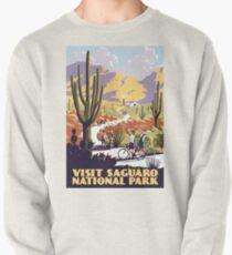 Sudadera sin capucha Visite el Parque Nacional Saguaro