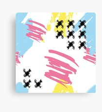 Mad brush Canvas Print