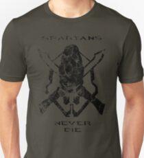 Spartans Never Die Unisex T-Shirt