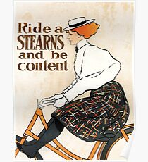 Stearns Bicycling Company Poster