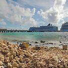 The View from Costa Maya  by John  Kapusta