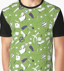 Sewing Graphic T-Shirt