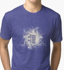 Demons run - v3 Tri-blend T-Shirt