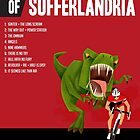 Official Tour of Sufferlandria 2017 Poster - MALE Rider by GvA The Sufferfest