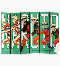 Naruto Running Timeline Poster