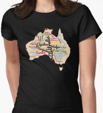 Australia Legalize Marijuana Women's Fitted T-Shirt