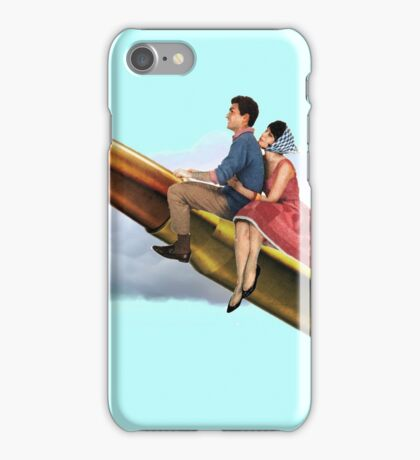To the moon Alice! iPhone Case/Skin