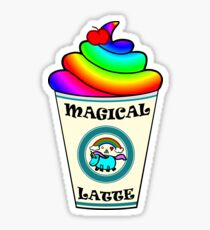 A Magical Latte of Unicorn Magic for the Starbucks Hipster Sticker