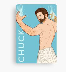 CHUCK IS ALSO JACKED Canvas Print