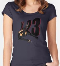 X-23 Silent Kill Women's Fitted Scoop T-Shirt