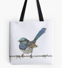 Superb Fairy Wren Tote Bag