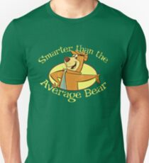 Yogi Bear - Smarter than the Average Bear Unisex T-Shirt