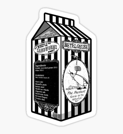 Beetle Juice Sticker