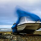 Boat on a windy day. by willgudgeon